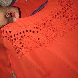 Orange Blouse!